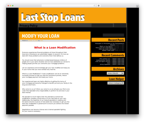 Ping WordPress template - laststoploans.com