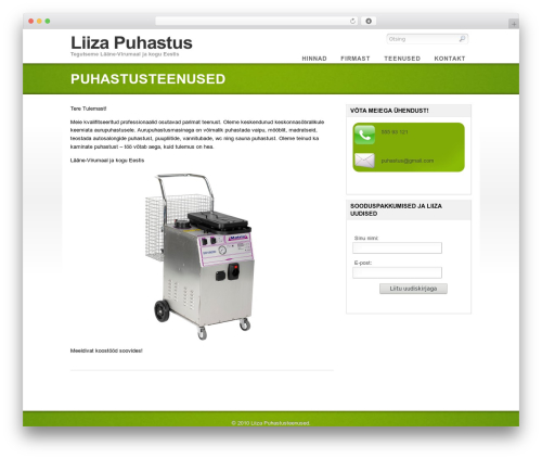 WordPress theme Eco - liiza.eu
