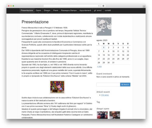 Activetab free WP theme - lnx.francomonacchia.it