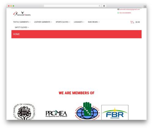 Best WordPress theme Adrenalin - samundri-industry.com