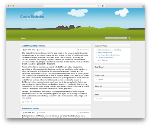 illustrative best WordPress template - lscasino.org