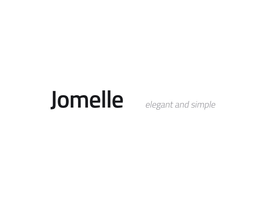 Jomelle template WordPress
