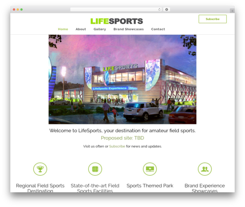 Satellite7 premium WordPress theme - lifesportsusa.com