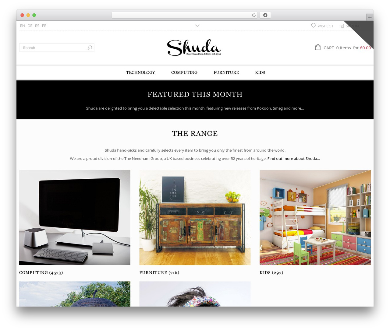 Shuda theme WordPress - shuda.co.uk