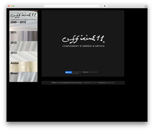 Theme WordPress Picture Perfect - lnx.officine11.com