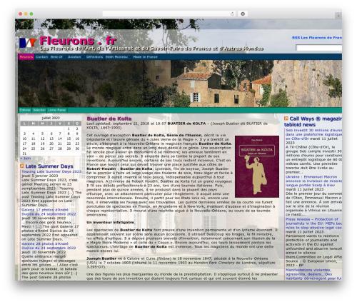Free WordPress Countdown Timer plugin - fleurons.fr