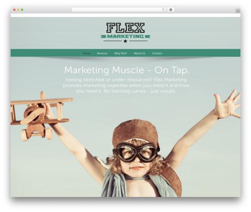 Avada theme WordPress - flex-marketing.com