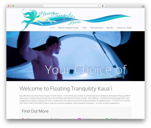 Best WordPress theme WP Champion - floatingtranquilitykauai.com
