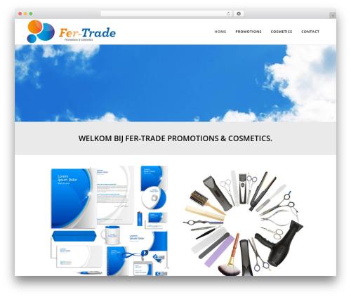 Bridge WP template - fer-trade.nl