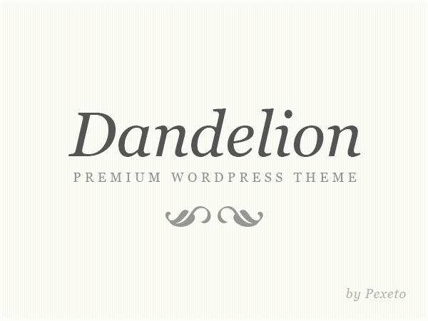 Dandelion Child WP template