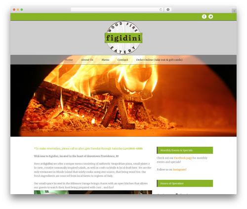 Delicieux WP theme - figidini.com