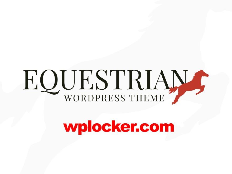 Equestrian (shared on wplocker.com) best WordPress template