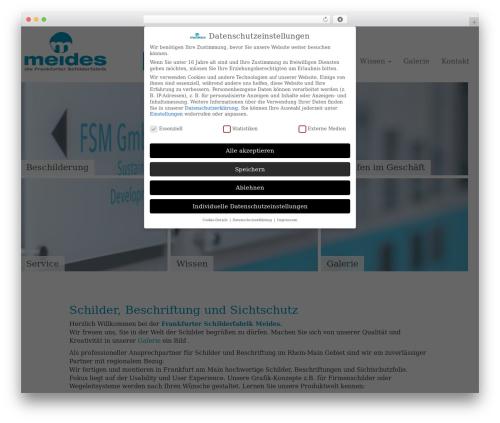 WordPress global-gallery-overlay-manager plugin - frankfurter-schilderfabrik.de