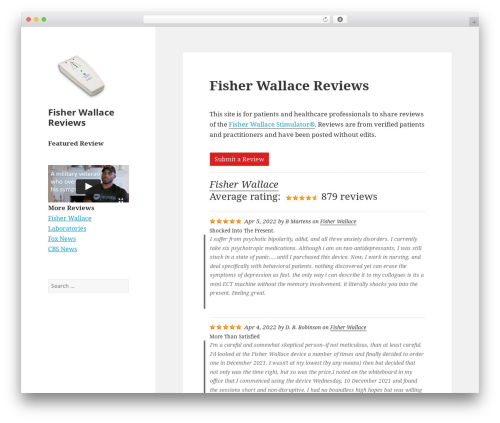 Free WordPress WP Customer Reviews plugin - fisherwallacereviews.com