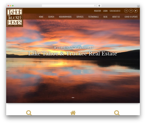 IDXCentral (Austin) WordPress website template - tahoetruckeehomes.com