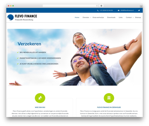 IncomeUp WP template - flevofinance.nl