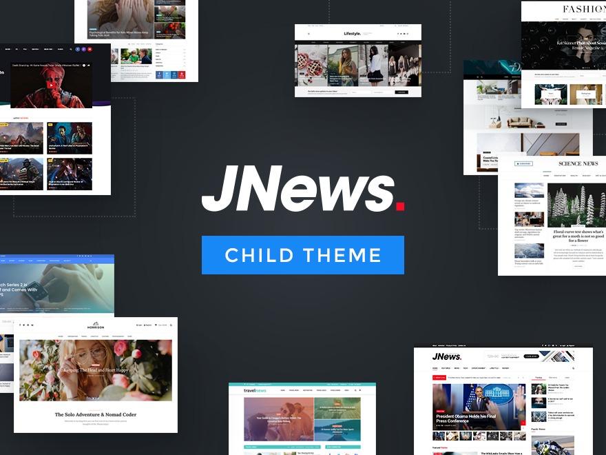 JNews - Child Theme WordPress news template