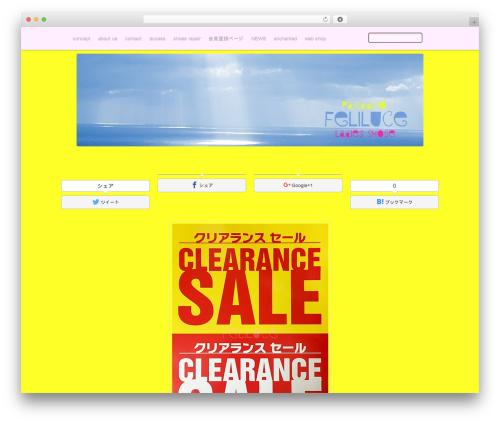 Mixfolio best WordPress template - feliluce.com