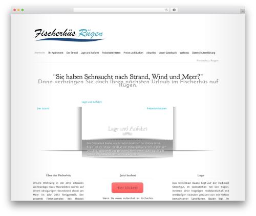 Modest template WordPress - fischer-ruegen.de