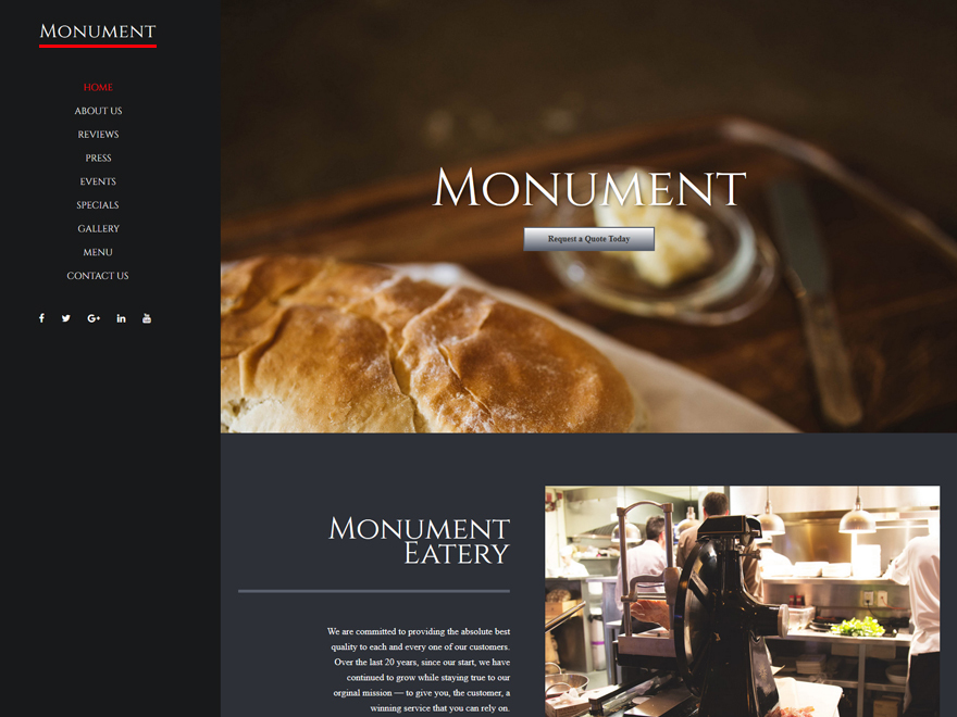 Monument best WordPress theme