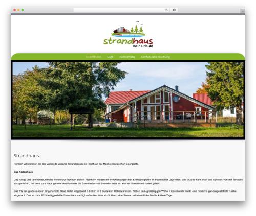 Preference Lite WordPress theme - ferienhaus-fleeth.de
