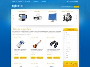 RGB Store WordPress ecommerce template