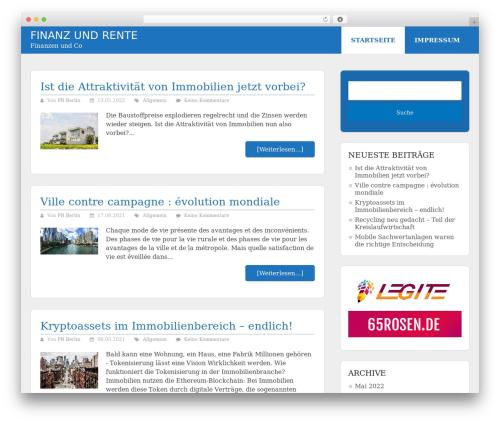 Schema Lite WordPress template free download - finanzundrente.de