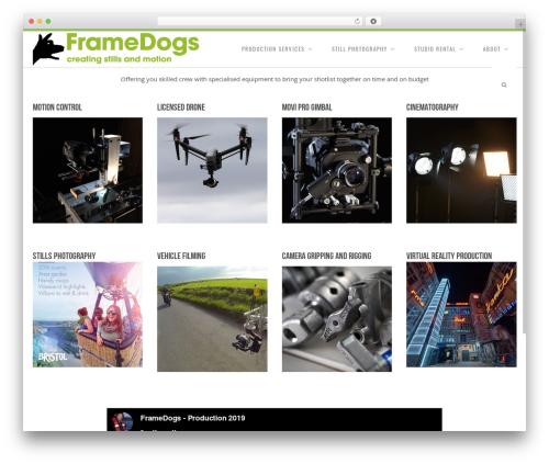 Senna WP theme - framedogs.com