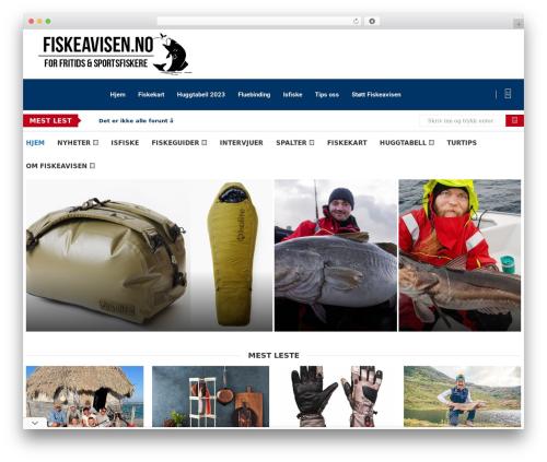 soledad WordPress theme design - fiskeavisen.no