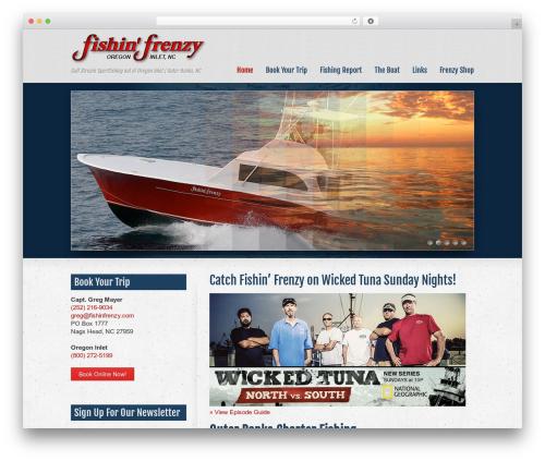 Striking MultiFlex & Ecommerce Responsive WordPress Theme WordPress shopping theme - fishinfrenzy.com