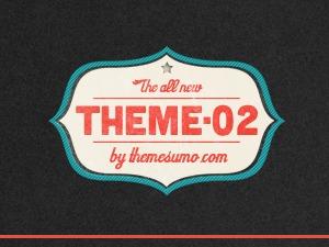 Theme 02 WordPress blog template