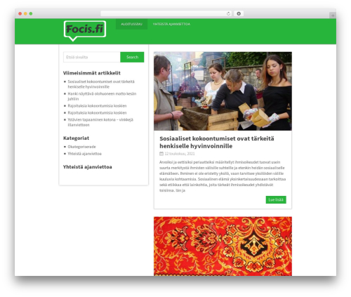 Theme WordPress Pinstagram by MyThemeShop - focis.fi