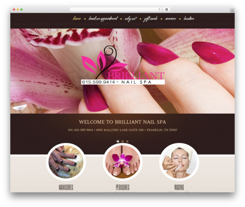 theme1957 top WordPress theme - franklinnailspa.com