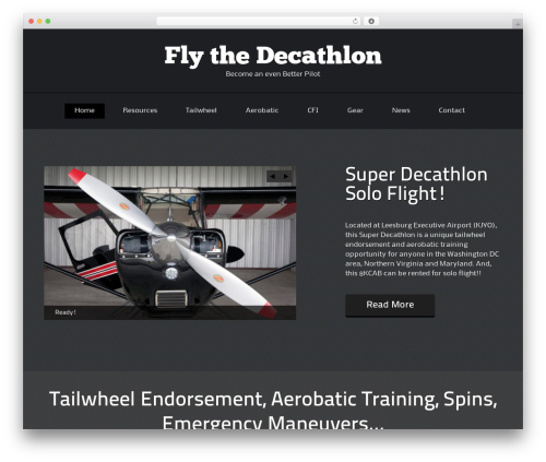 ThemeAlley.Business.Plus WordPress template for business - flythedecathlon.com