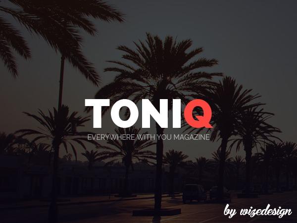 Toniq WordPress movie theme