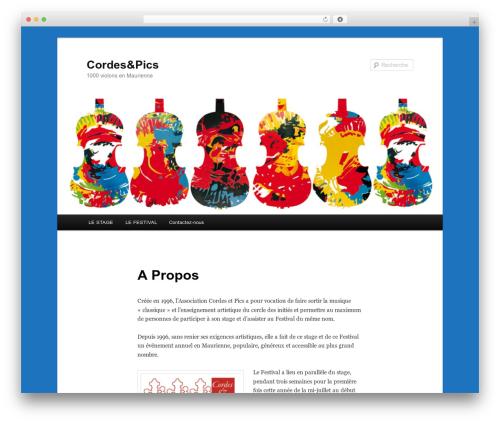 Free WordPress Twenty Eleven Theme Extensions plugin - festival-cordesetpics.com