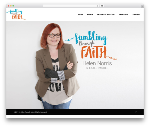 Utmost WP theme - fumblingthroughfaith.com