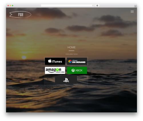 Vysual WP theme - fishsurfboardfilm.com