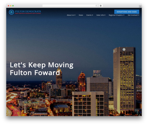 WordPress template Nominee - fultondems.org