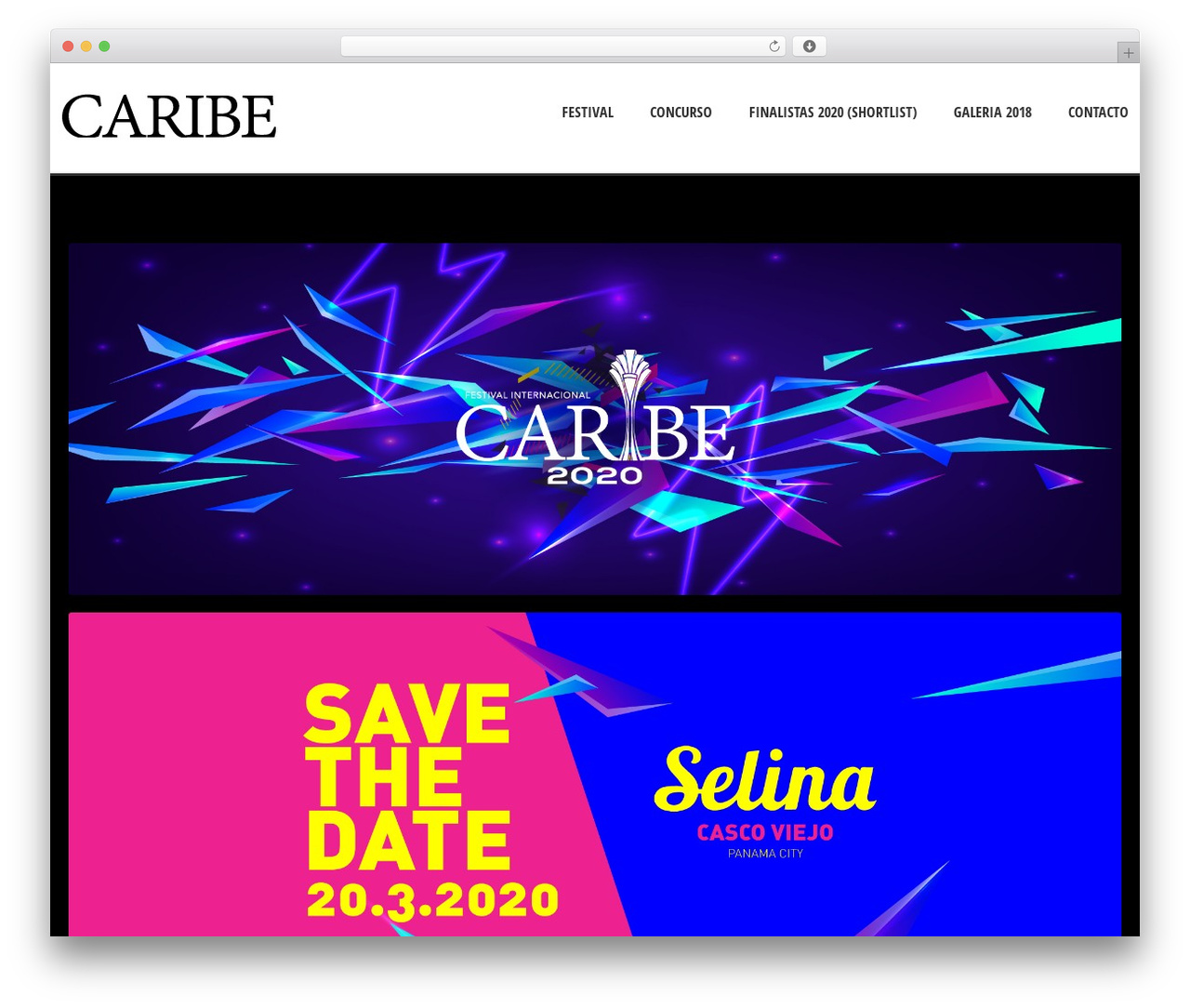 WordPress template Solitudo - festivalcaribe.com