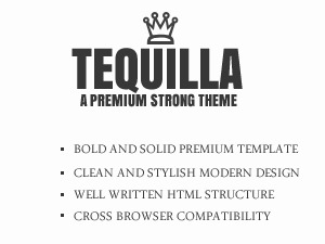 WordPress theme Tequilla Premium Wordpress Theme