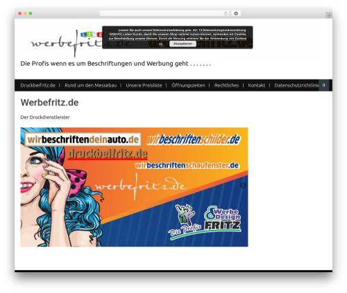 WP template Nomad - fritzdruck.eu