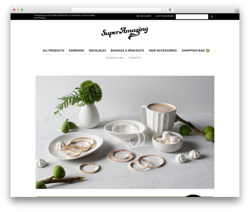 Best WordPress template The Retailer - superamazing.com.au