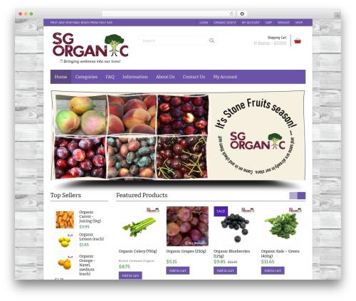 Free WordPress WP Simple Galleries plugin - sgorganic.sg