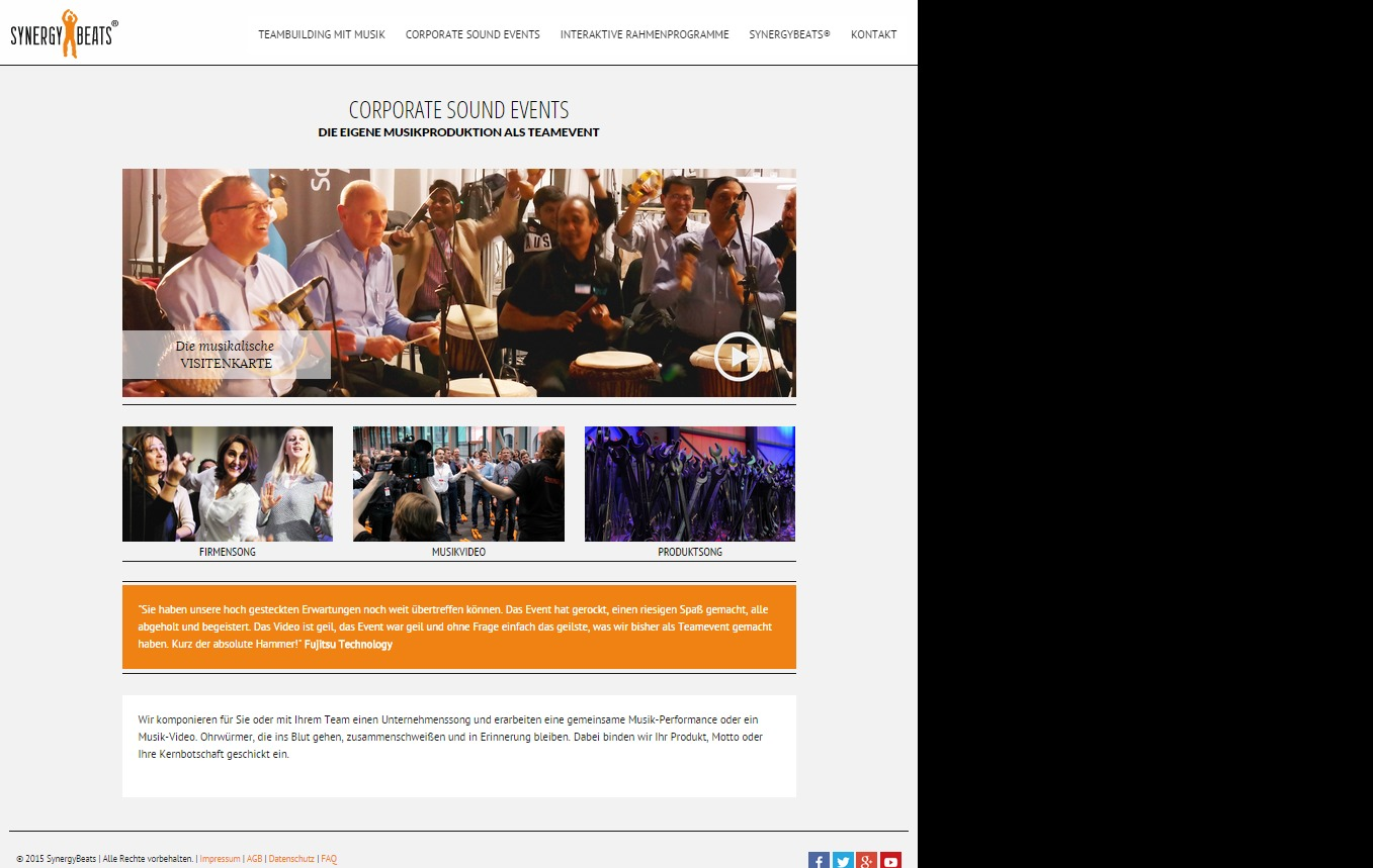 Styleyourweb Responsive Synergybeats Theme Wordpress Theme