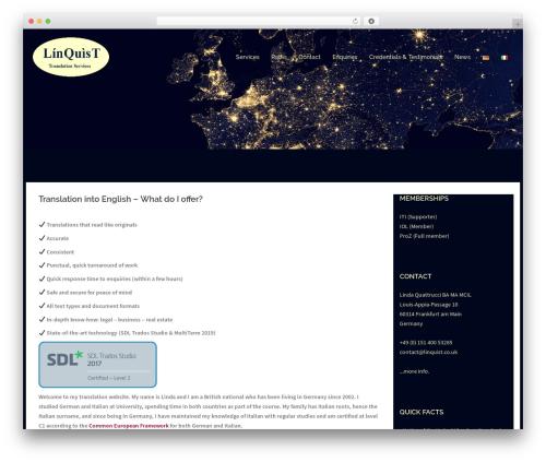 Sydney WordPress theme free download - linquist.co.uk