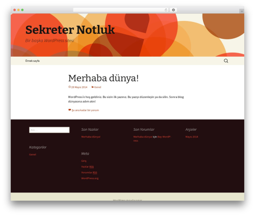 Twenty Thirteen WordPress theme free download - sekreternotluk.com
