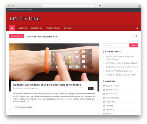 WP template News Vibrant - ledtvdeal.in