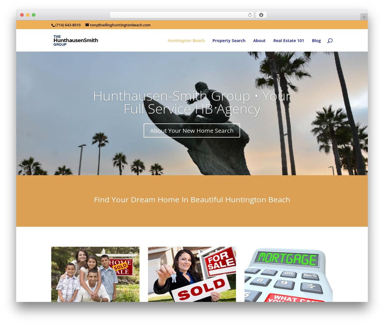 Divi best WordPress magazine theme - sellinghuntingtonbeach.com