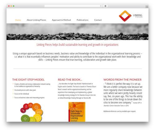 Kause Update WordPress theme - linkingpieces.com